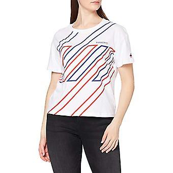 Superdry Sportstyle Camiseta, Óptica, 14 Mujeres