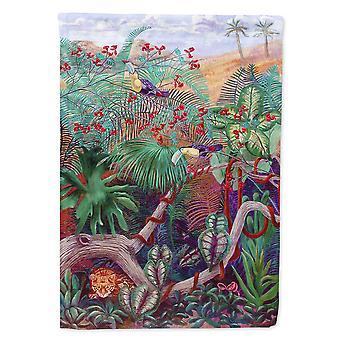 Les trésors de Caroline 7144Chf Oiseau Toucan Drapeau Toile, Grand, Multicolore