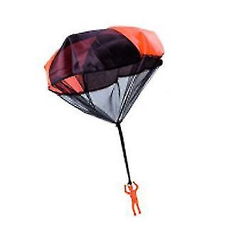 Rode kinderen parachute speelgoed tangle gratis gooien hand gooien parachute leger man gooi het op x1001