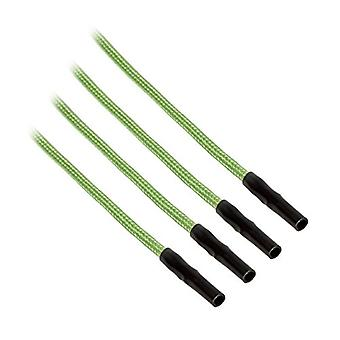 CableMod ModFlex Sleeved Cable Light Green 40cm - 4 Pack