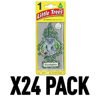 Eucalyptus (Pack Of 24) Little Trees Air Freshener