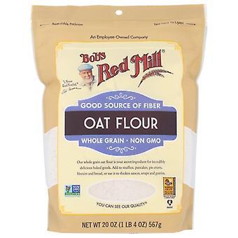 Bobs Red Mill Flour Oat, Fodral på 4 X 20 Oz