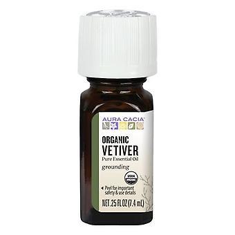 Aura Cacia Etherische Olie Vetiver, Veviter 0.25 oz