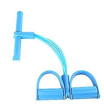 Yoga fitness multifunzionale Elastic Pull Ropes Bands (Blu)