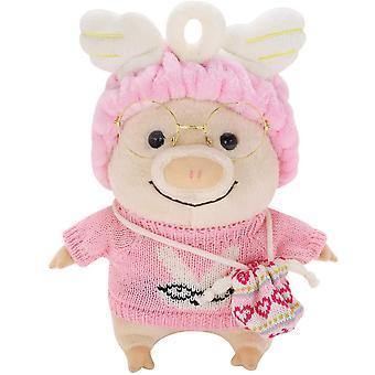 25cm dress opp piggy myk plysj leketøy søt tegneserie sovende pute dukke