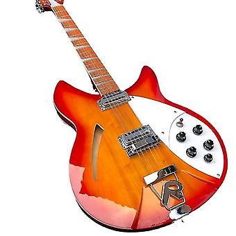 القيثارات عالية الجودة سلسلة الغيتار الكهربائي انفجار الجسم روزوود مجلس الاصبع