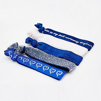 Hair Flair Hair Ties - Blueberry Dream