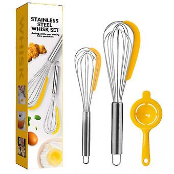 Whisk Set Kitchen Egg Whisk Wire Wisks For Cooking