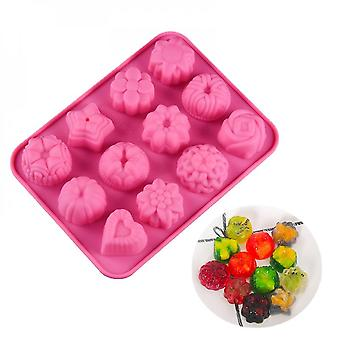 Jelly Pudding Mold, Silicone Candy, Non-stick, Chocolate Egg Tart, Kitchen Baking Tools