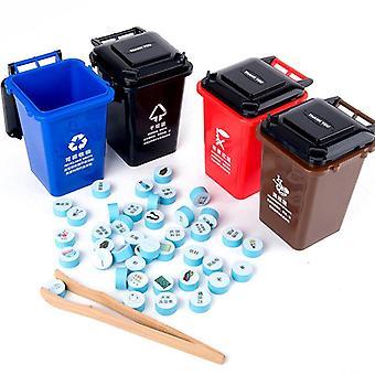 Søppel sortering leketøy sett