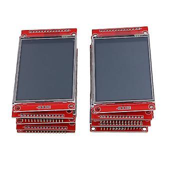 Projection screens 10pcs 2.8 inch 240pcs 320 spi tft lcd serial port module 5v/3.3v pbc adapter