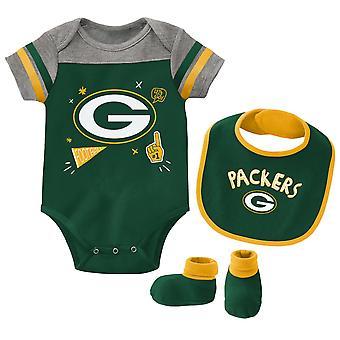 NFL Baby Bib & Bootie Set - Green Bay Packers