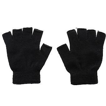 Knitted Fingerless Autumn/winter Outdoor Stretch Elastic Warm Half Finger