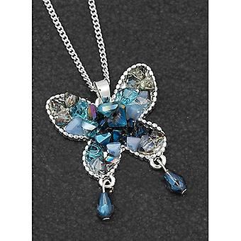 Boho Chic Silver Plated Butterfly Necklace