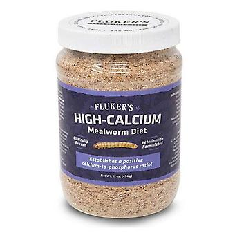 Flukers High-Calcium Mealworm Diet - 12 oz