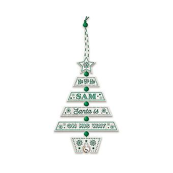 التاريخ وهيرالدري عيد الميلاد شجرة الديكور - سام 269800732 اليد الخشبية وضعت