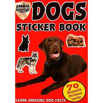 Dyr Detektiver Hunder Klistremerke Bok Hunder Klistremerker EN
