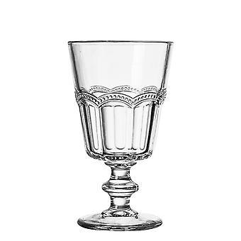 1pcs Ein Kelch voller Atmosphäre Retro Court Glas Einfaches Relief Champagner Rotwein Glas