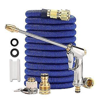 Lubrication hoses homemiyn multifunctional telescopic high pressure water pipe water gun for garden watering and car