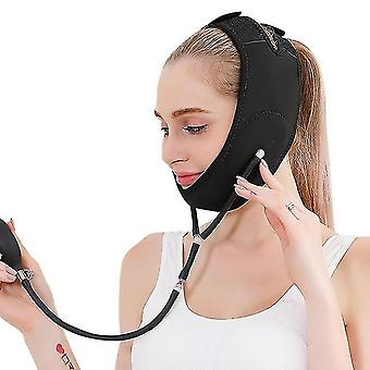 Novo rosto elástico emagrecendo curativo v linha face shaper mulheres bochecha queixo levantar cinto anti facial