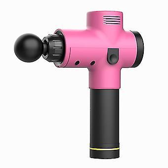 Yhdysvaltalainen pistoke vaaleanpunainen hierontalaite h-held lyömäsoittimet hieronta-ase 12.6v 20-vaihteinen dt8766