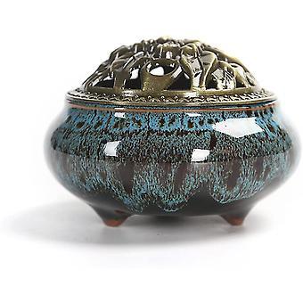 Weihrauchbrenner Keramik Aroma Diffusor Serpentine Aschenbecher Dekoration Zubehör
