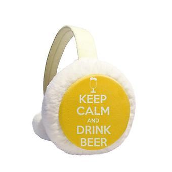 Keep Calm  Ear Warmer