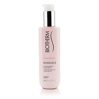 Biotherm Biosource Softening & Make-up Removing Milk - For Dry Skin - 200ml/6.76oz