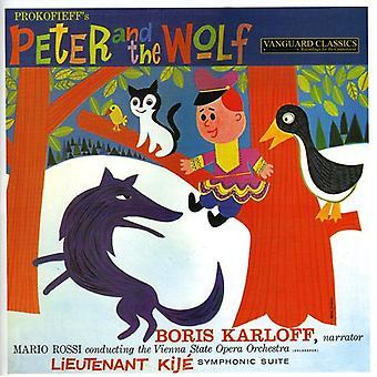 Boris Karloff - Peter and the Wolf/Lieutenant Kije Sui [CD] USA import