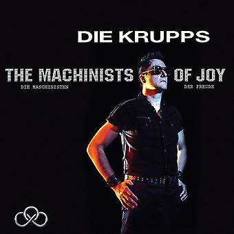 Die Krupps - Machinists of Joy [CD] USA import