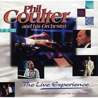 Phil Coulter - importation USA Live expérience [CD]