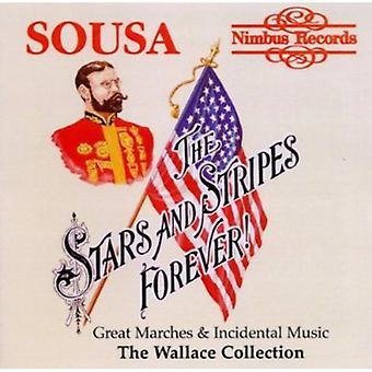 J.P. Sousa - stjärnor och ränder Forever: Sousas fantastiska marscher och scenmusiken [CD] USA import