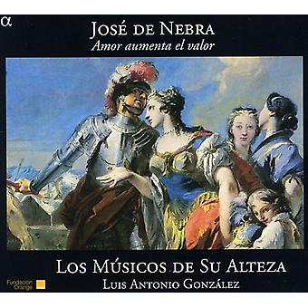 J. de Nebra - Jos De Nebra: Amor Aumenta El Valor [CD] USA import