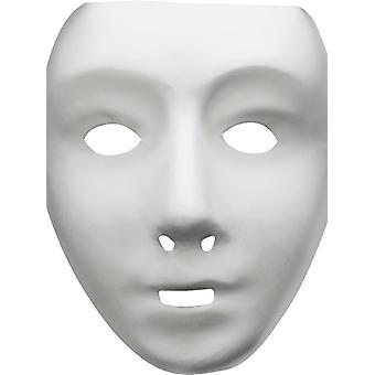 Robot masca alb robot Halloween Teatrul Venezia masca