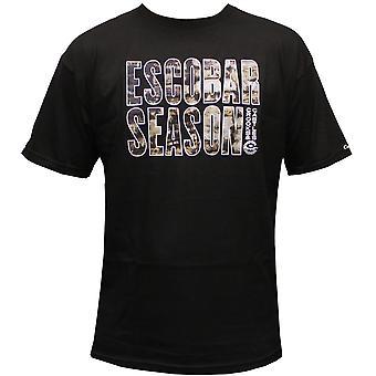 Crooks & Castles Escobar Season T-shirt Black