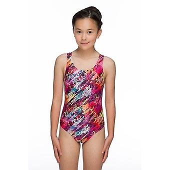 Maru Star Flight Sparkle Girls Swim Suit, Apollo Back