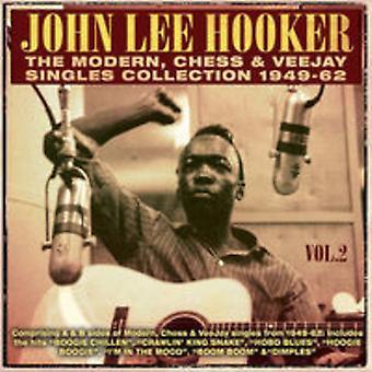 John Lee Hooker - Lee Hooker John-den moderne skak & Ve [CD] USA import