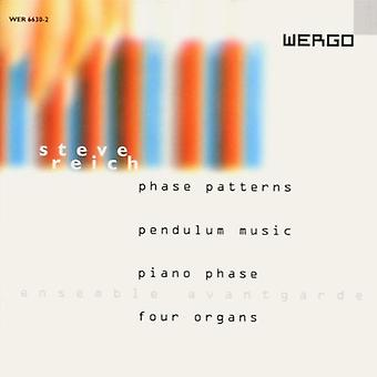 S. Reich - Phase Patterns. Pendulum Music. Pianophase. Four O [CD] USA import