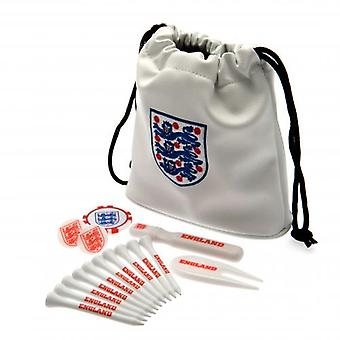 England FA Tote Bag Golf-Geschenk-Set