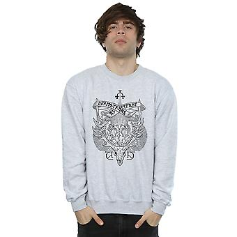 Harry Durmstrang Institute Crest Sweatshirt Potter masculine