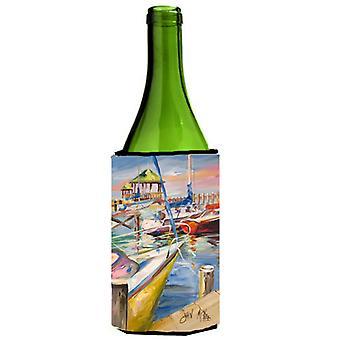 Muelles de barco veleros botella de vino bebidas aislador Hugger
