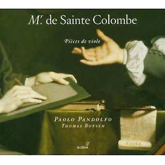 M.D.S. Colombe - Mr. De Sainte Colombe: Pi Ces De Viole [CD] USA import