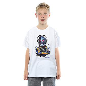 Marvel Boys Guardians Of The Galaxy Star Lord Cassette T-Shirt