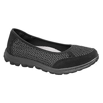 Boulevard Womens/Ladies Slip On Memory Foam Shoes