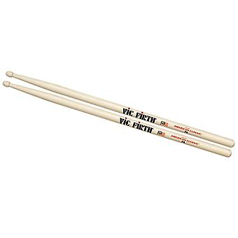 Vic Firth American Classic 7A Holz Tipp Drumsticks