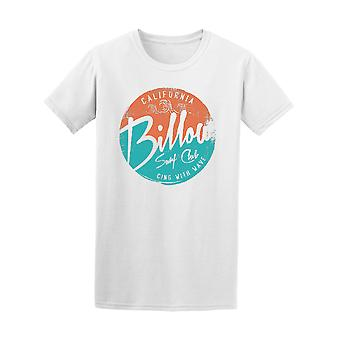California Billow Surf Club Graphic Tee - Image by Shutterstock