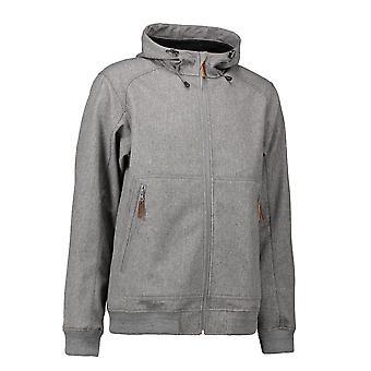 ID Unisex Soft Shell Hooded Jacket