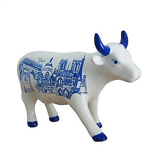 Cow Parade Paris Cow (medium ceramic)