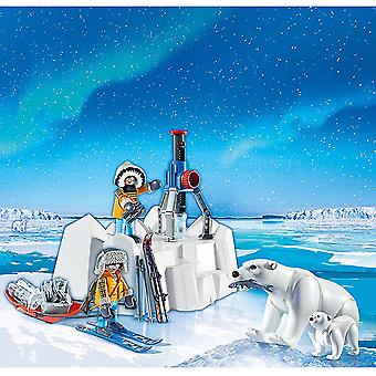 Playmobil 9056 Action Arctic Explorers med isbjørn