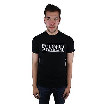 Emporio Armani 3Z1T86 1J0AZ 0999 negro t-shirt